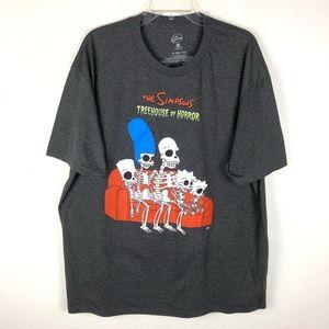 The Simpsons TreeHouse Of Horror T Shirt Tee Sz 2X